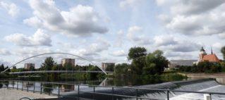 Zweite Kampagne an der Mulde, Dessau.